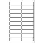 "Multipurpose Processing Labels - 1"" x 3"""