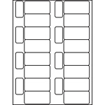 "Multipurpose Processing Labels - 15/16"" x 2 3/4"""