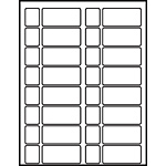 "Processing Circulation Label Sets 1-1/4"" x 2-5/8"""