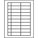 "Processing Circulation Label Sets 1"" x 2-9/10"""