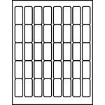"Multipurpose Processing Labels 2"" x 9/10"""