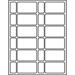 "Processing Circulation Label Sets 1-5/8"" x 2-9/10"""