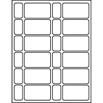 """PermaPlus™ Processing Label Sets 1-5/8"""" x 2-7/8"""""""