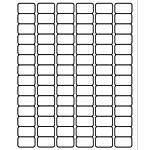 "PermaPlus™ Processing Labels 3/4"" x 1-1/4"""