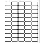 "PermaPlus™ Processing Labels 1"" x 1-1/2"""