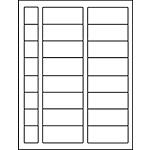 """PermaPlus™ Processing Label Sets 1-1/4"""" x 2-7/8"""""""