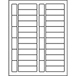 """PermaPlus™ Processing Label Sets 27/32"""" x 2-13/16"""""""