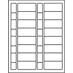"""PermaPlus™ Processing Label Sets 1-11/32"""" x 2-7/8"""""""