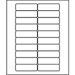 "PermaPlus™ Processing Labels 1"" x 3"""