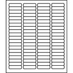 "PermaPlus™ Processing Labels 1/2"" x 1-3/4"""