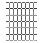 "PermaPlus™ Processing Labels 1-1/2"" x 7/8"""